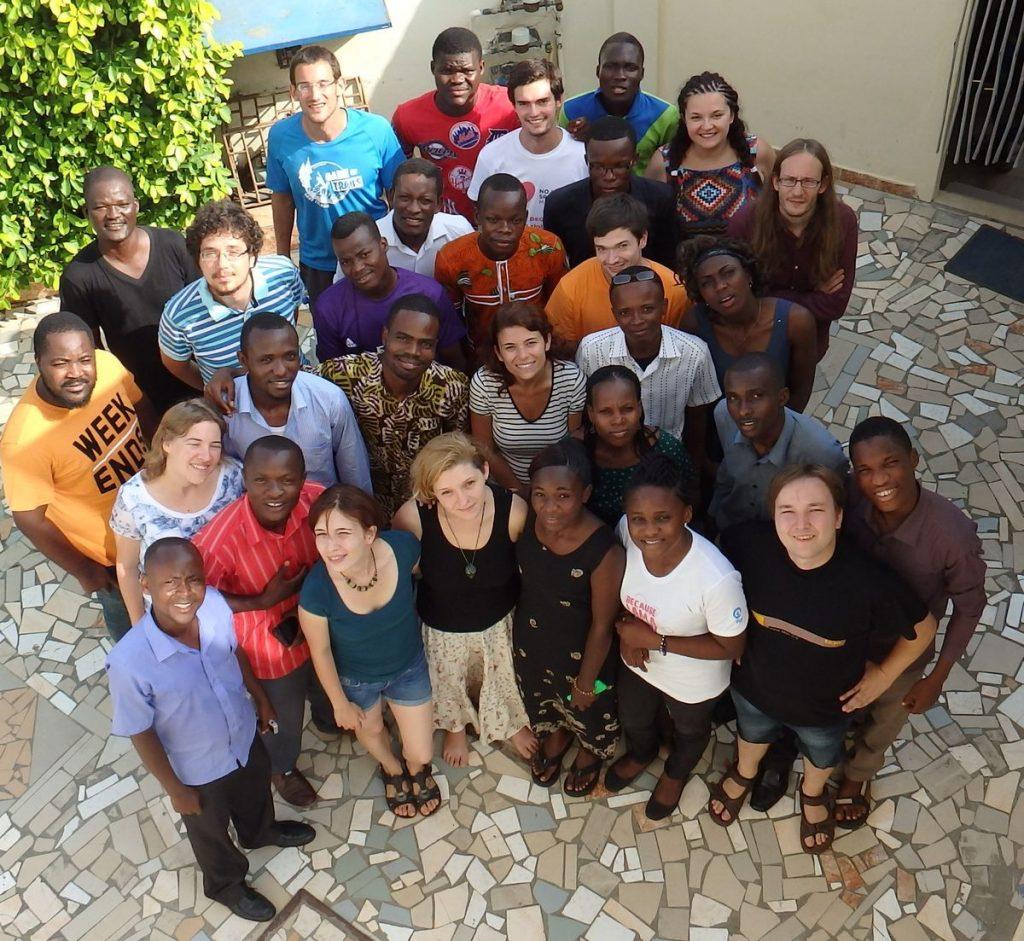 La unua renkontiĝo de la projekto aejk – afrika eŭropa junulara kapabligo